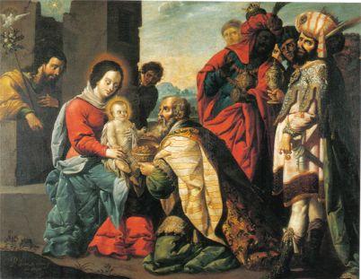 Adoración de los Reyes Magos Baltasar de Echave Rioja 1659